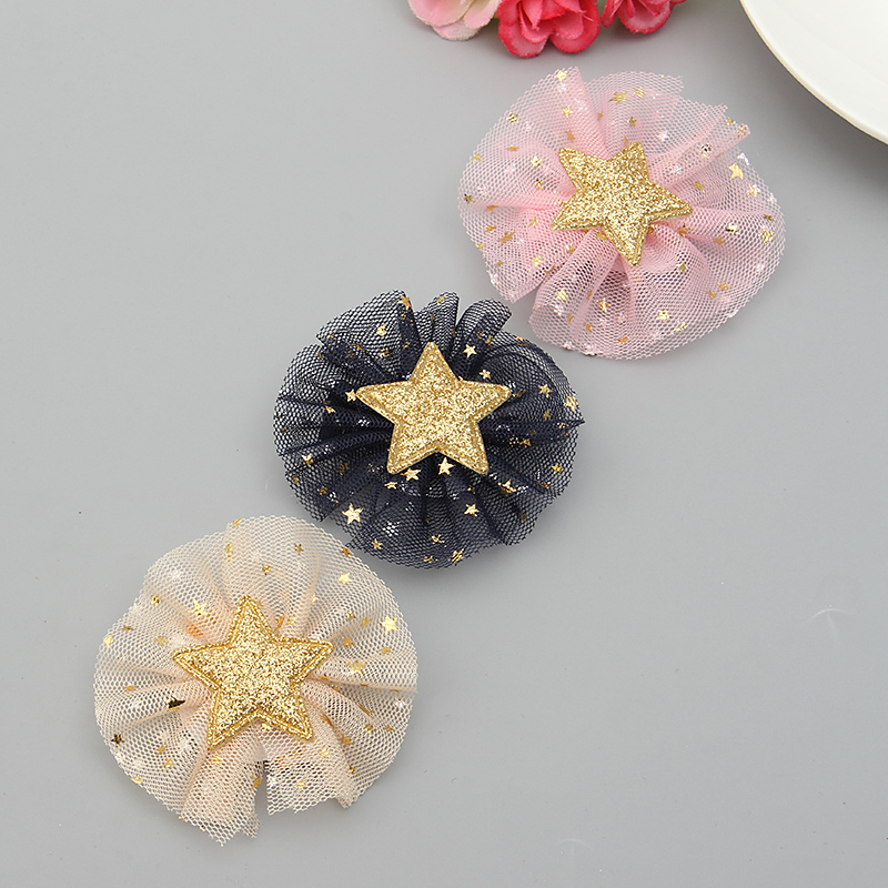 Cute Flower Star Baby Hairpin Gift Kid's Jewelry