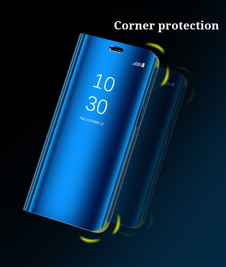 BAKEEY Mirror Auto Sleep Full Body Shockproof Protective Case For Xiaomi Mi A2 / Xiaomi Mi 6X