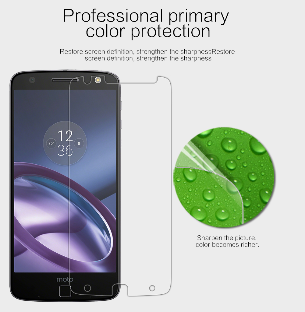Bakeey Clear High Definition Anti-Scratch Soft Screen Protector for Lenovo Moto Z