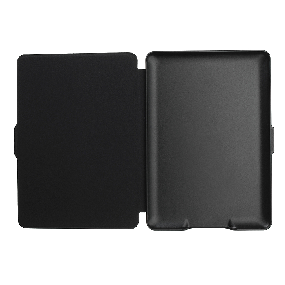 ABS Plastic Lake Painted Smart Sleep Protective Cover Case For Kindle Paperwhite 1/2/3 eBook Reader