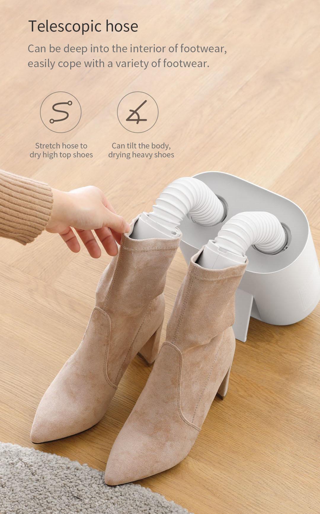 Deerma HX10 Intelligent Multi-Function Retractable Shoe Dryer from Xiaomi Youpin