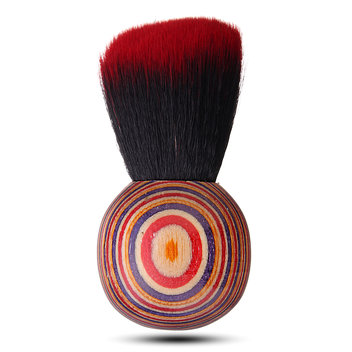 Folk Style Wooden Makeup Brush Blush Loose Powder Cosme