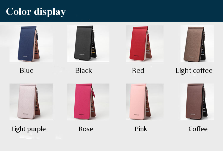 Women Men Ultra Thin Leather Purse Wallet Multi Slot Phone Bags For iPhone 7Plus Xiaomi 5.5 Inches