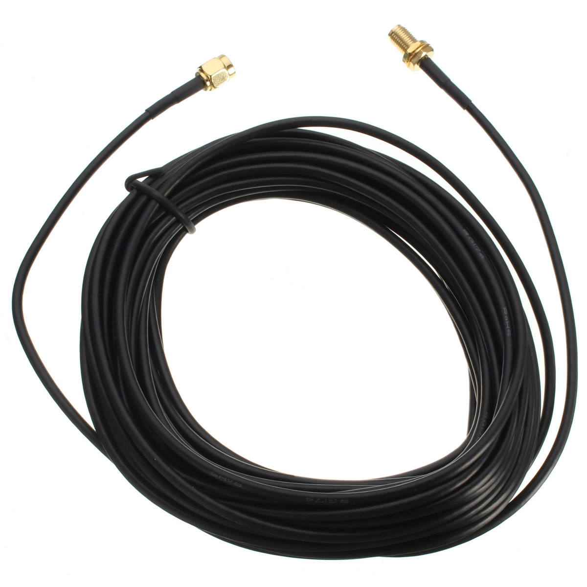 RG174 1M/5M RP-SMA Male to Female Wifi Antenna Extension Cable for Wireless Network Card Router AP