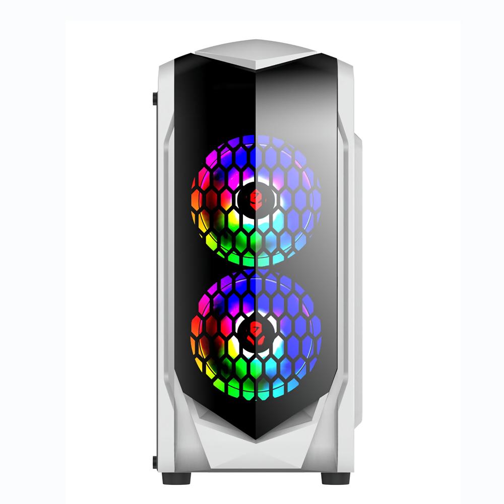 375*185*380mm Transparent Side Panel Micro ATX Desktop PC Computer Case