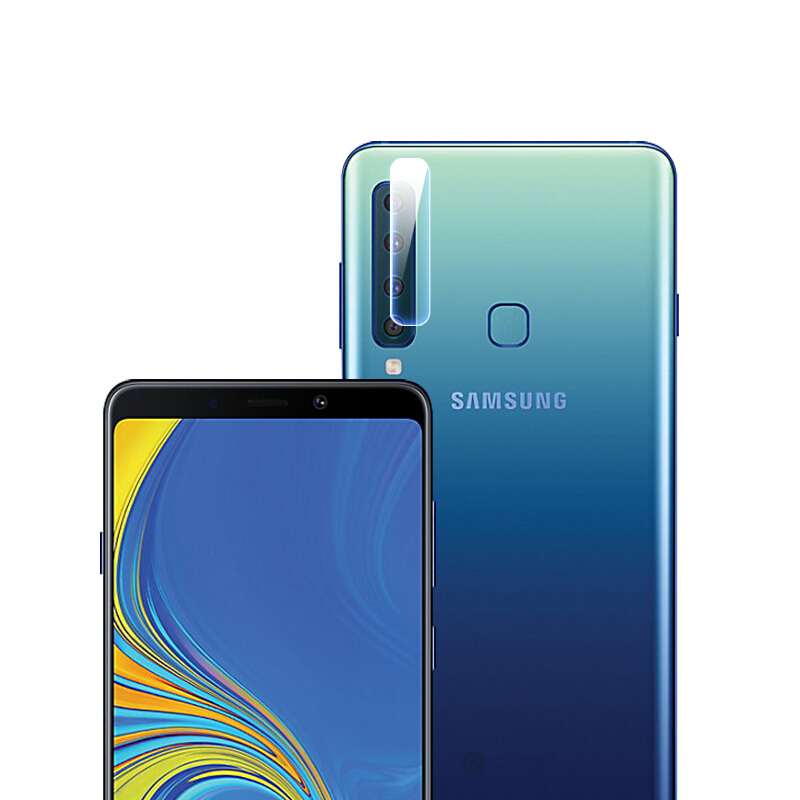 2 Packs Bakeey 2.5D Curved Edge Tempered Glass Rear Back Camera Lens Protector For Samsung Galaxy A9 2018