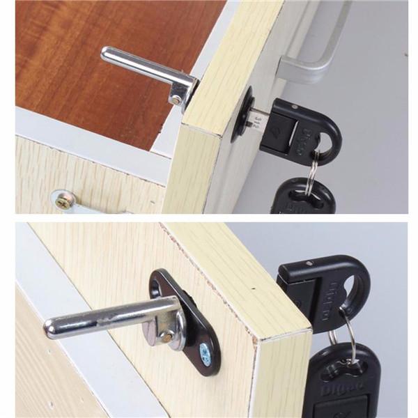 19mm Zinc Alloy Lock Tool Box File Cabinet Desk Drawer Cupboard Lock