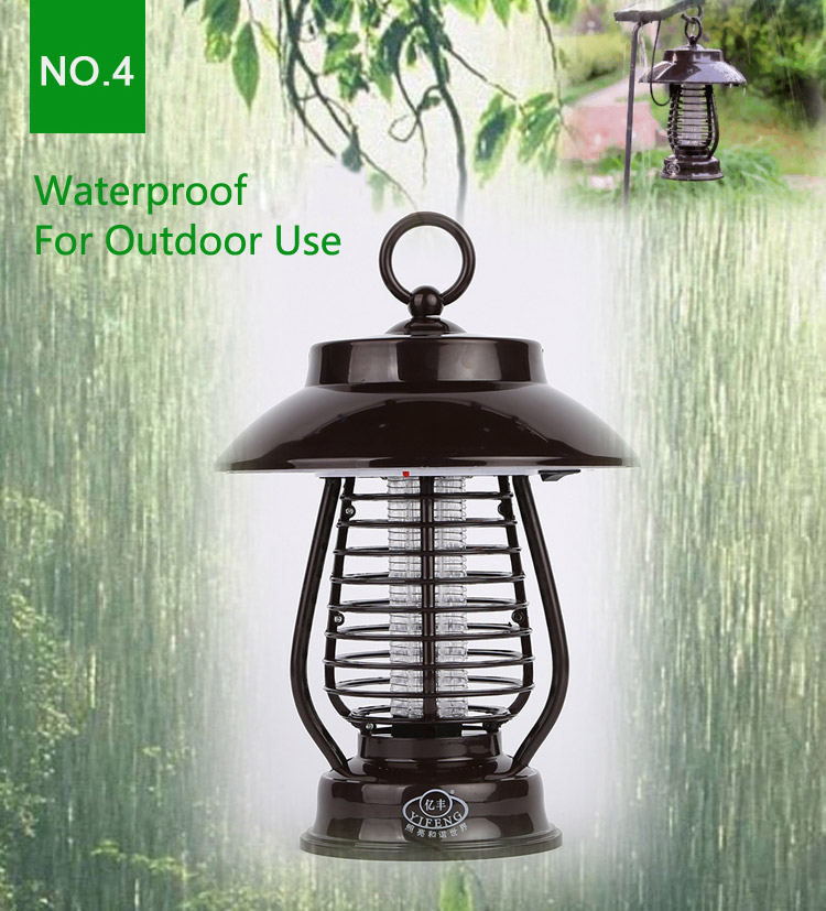 Garden Solar Power Anti-mosquito LED Light Indoor Outdoor Waterproof Mosquito Killer Lamp