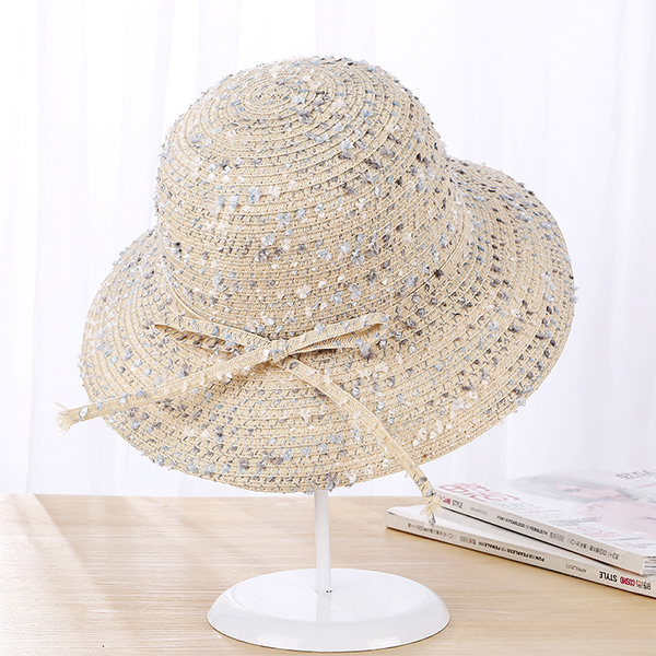 Summer Sunshade Visor Beach Sun Hat For Women