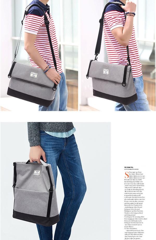 Men Multi-function Messenger Bag