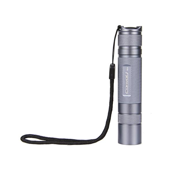 Convoy S2+ Gray Flashlight Host DIY LED Flashlight Shell Host Flashlight Accessories