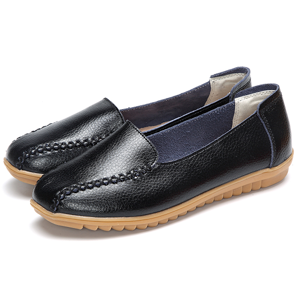 Colorful Soft Casual Slip On Flat Loafers For Women