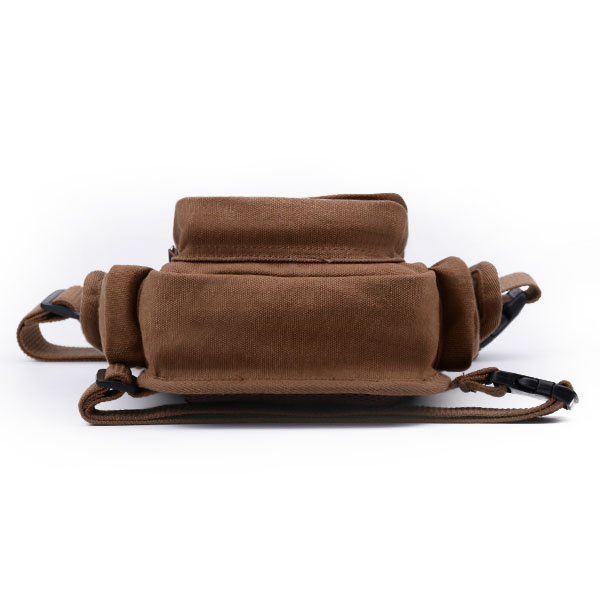 Men Canvas Waist Bag Outdoor Belt Fanny Pack Motorcycle Tactical Drop Leg Bag