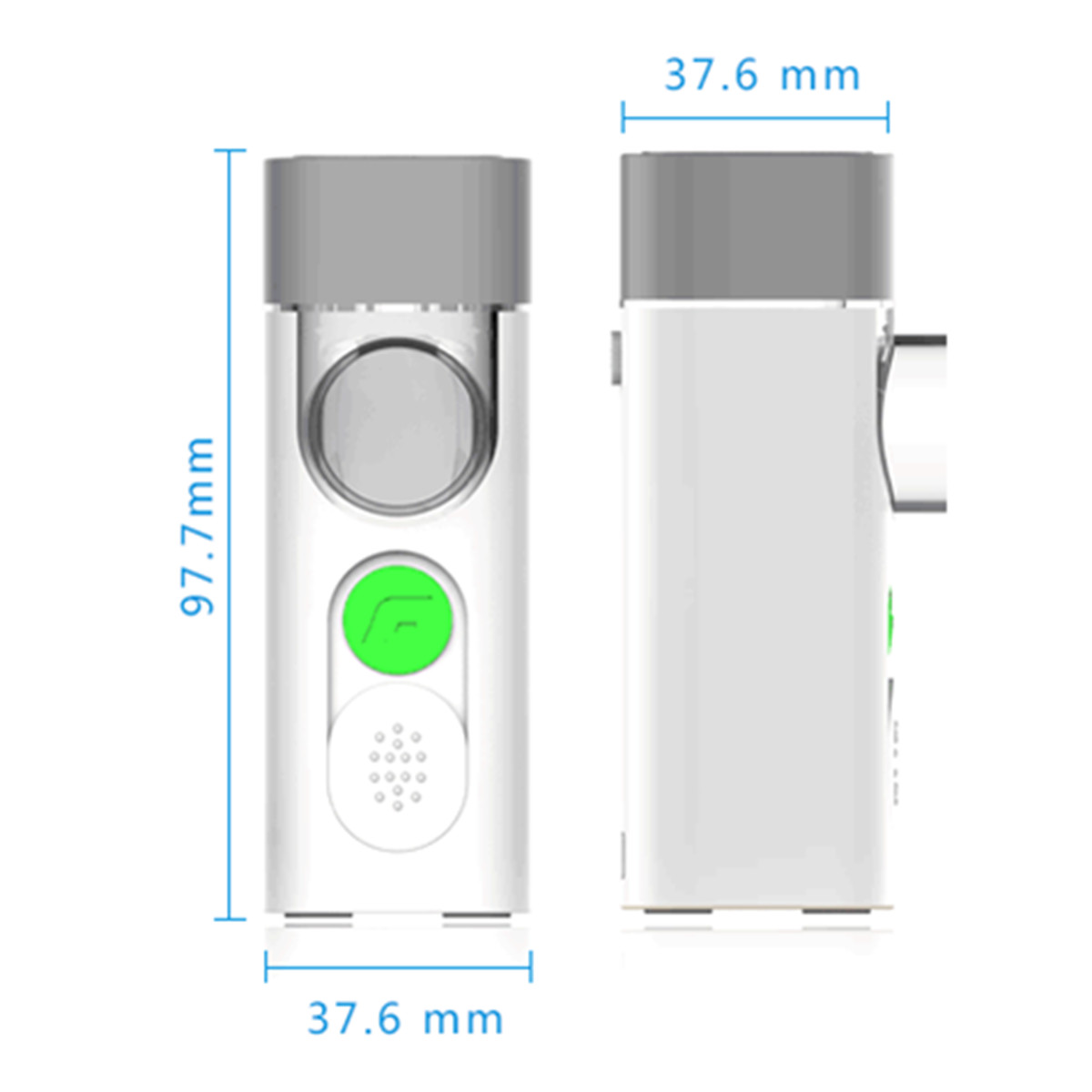 Feellife Mini Air 360 Handheld Micro Mesh Nebulizer Inhaler Vaporizer Atomizer