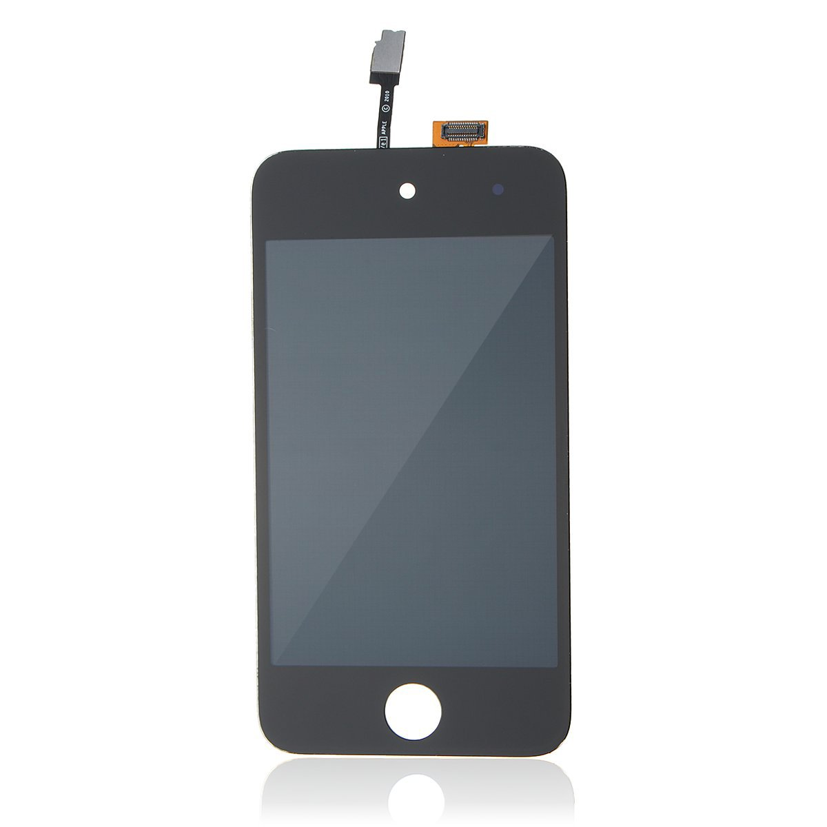LCD Touch Digitizer Black & White Glass Screen Assembly for iPod Touch 4