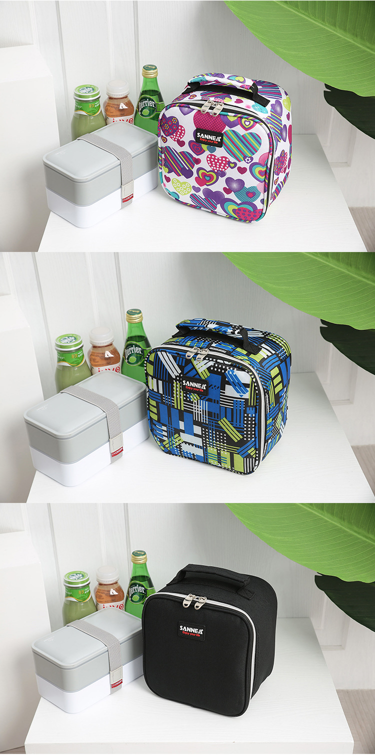 SANNE 5L Lunch Bag Small Capacity Children's Insulation Outdoor Picnic Portable Lunch Bag Insulation Cold Portable Ice Bag