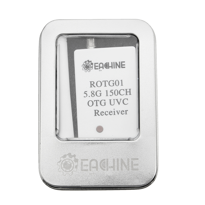 Eachine ROTG01 UVC OTG 5.8G 150CH Full Channel FPV Receiver For Android Mobile Phone Tablet Smartphone