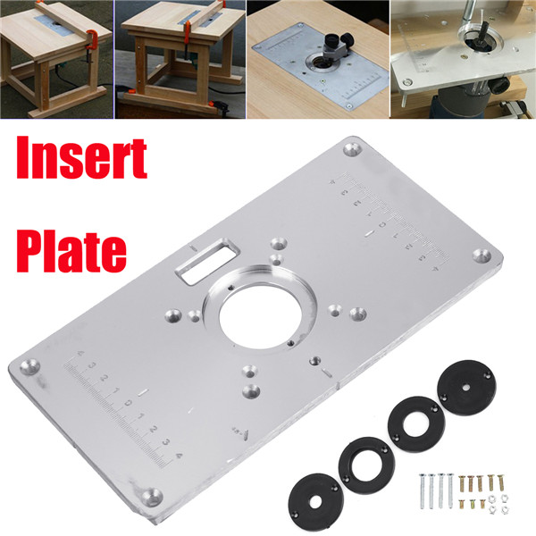 Makita 700c multifunctional aluminium alloy router table insert multifunctional aluminium alloy router table insert plate for makita 700c woodworking keyboard keysfo Gallery