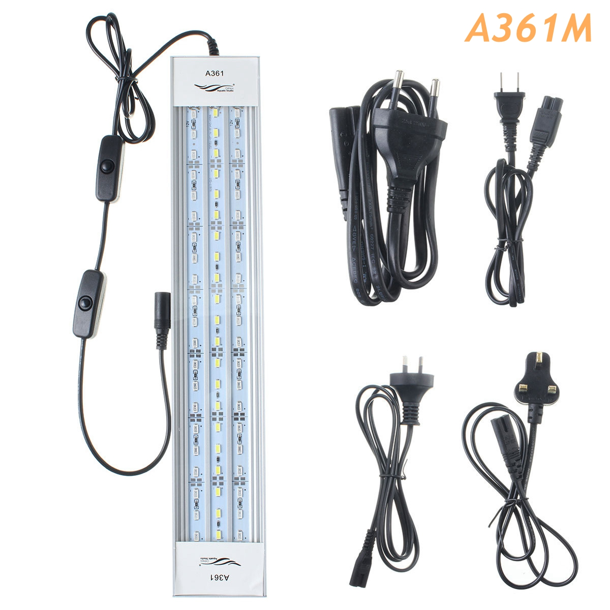 A361M 21W 36CM 5730 63SMD 2800LM 5 Colors LED Coral SPS LPS Aquarium Tank Lamp