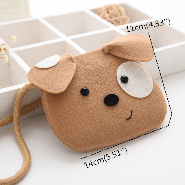 Children Cartoon Animal Bear Crossbody Bags Cuit Coin Purses Bag for Kids Little Girls