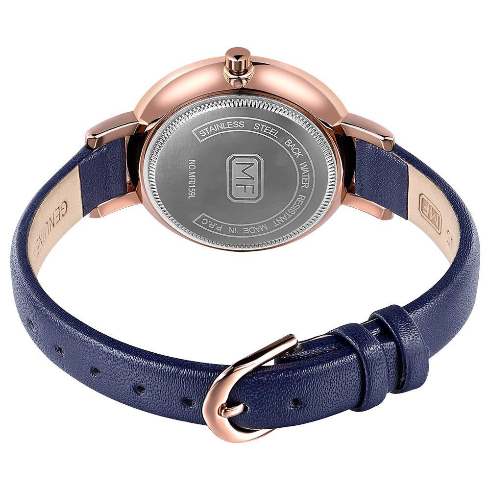 26fc19847ba5 reloj de pulsera mini focus mf0159l diamonds cuero strap para mujer ...