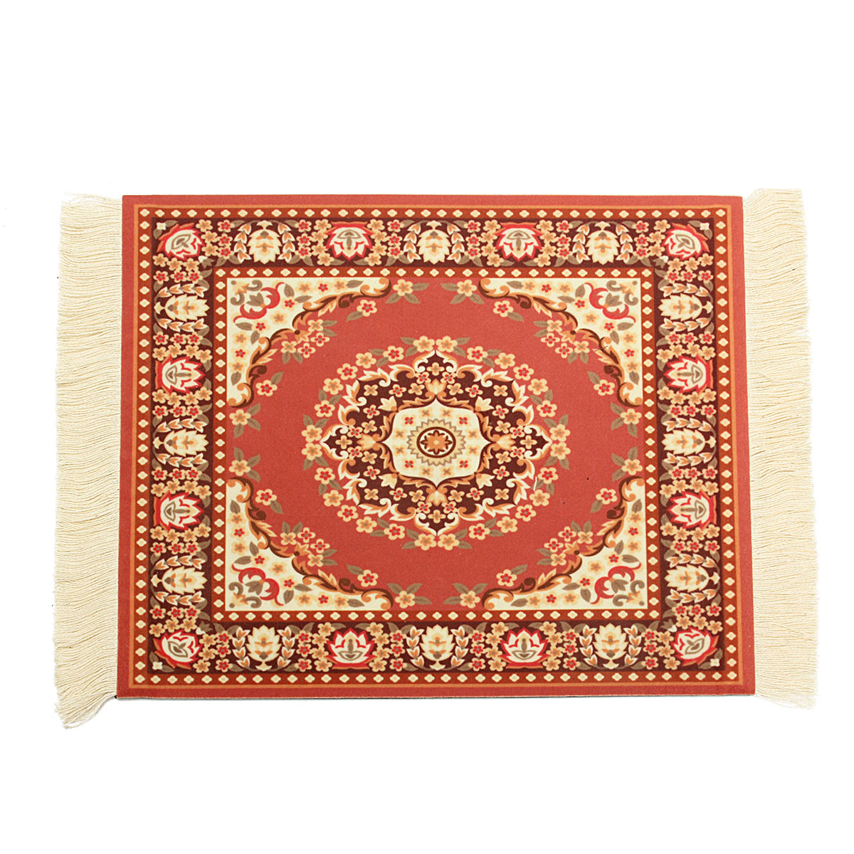 11''x7'' Persian Style Mini Woven Rug Mouse Pad Carpet