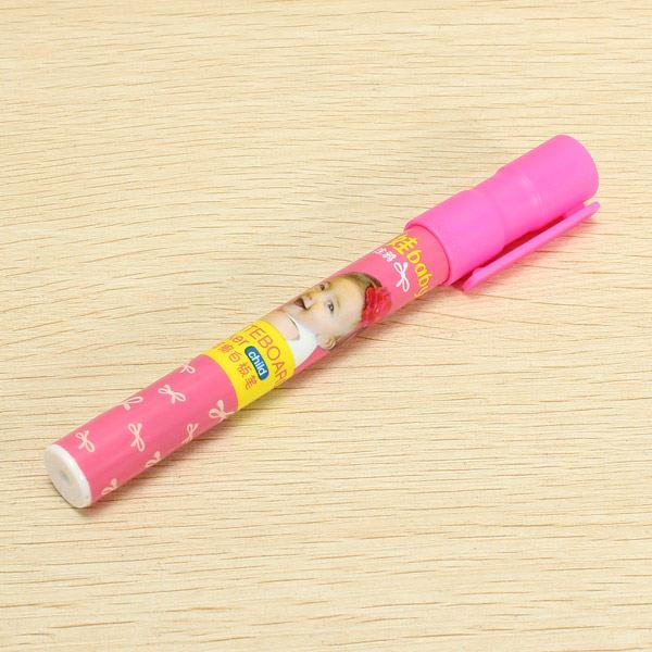 Genvana 1.5mm 8 Colors Per Set Children Cute Erasable Marker Pen for White Board