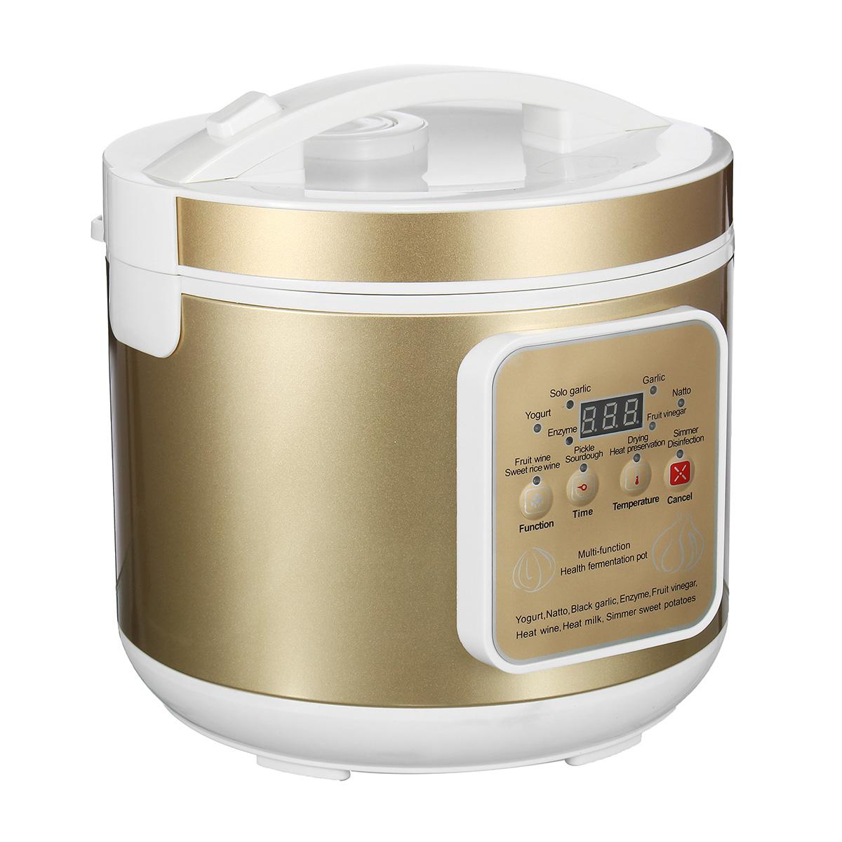 6L Large Capacity Automatic Black Garlic Fermenter Yoghurt Natto Maker Machine