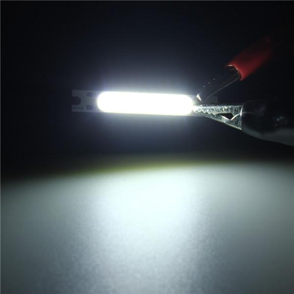 Mini 3W COB LED Lamp Strip Light Bar Warm White/ White 300LM 10-11V