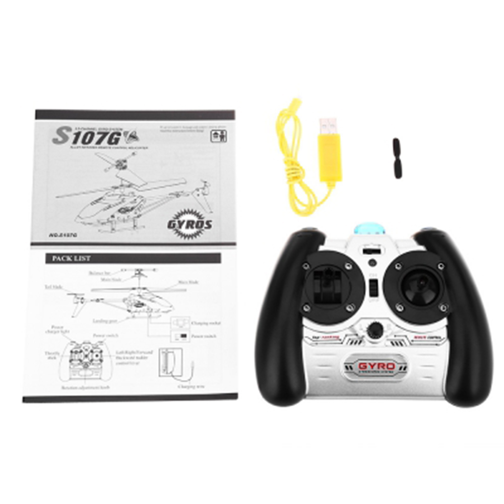 SYMA S107G 3CH Infrared Mini RC Helicopter With Gyro RTF - Photo: 12