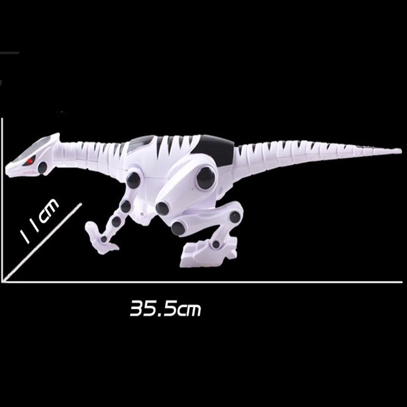 Electric Walking Robot Dinosaur Model With Light Sound For Kids Children Educational Gift Animal Toy