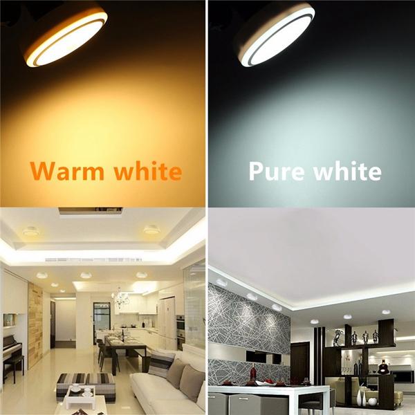 E27 12W PIR Infrared Motion Sensor LED Night Light Ceiling Down Lamp Bulb AC85-265V