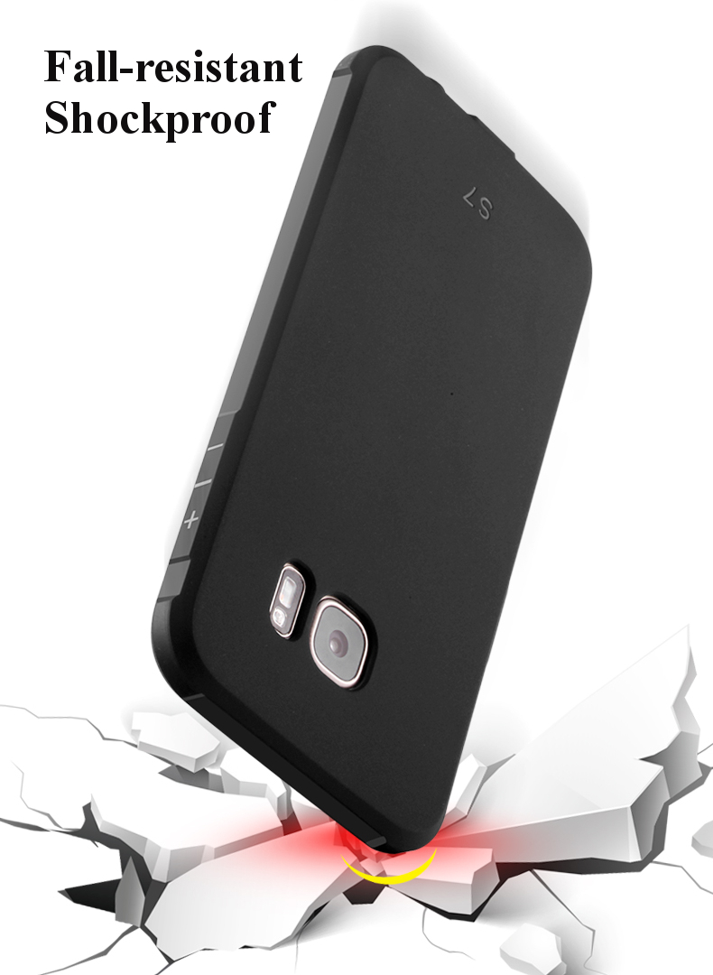 3D Dragon Pattern Fall Resistant Shockproof Silicone Cover Case for Samsung Galaxy S7