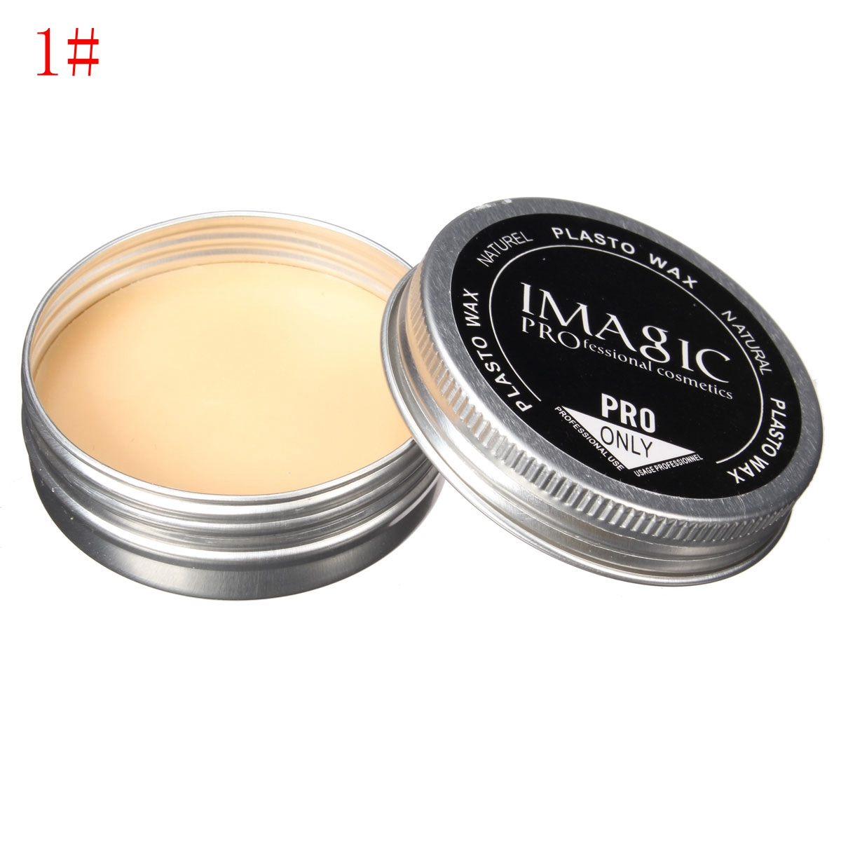 3pcs Halloween Makeup Tricky Scar Tattoo Cover Concealer Fake Would Skin Wax