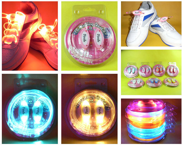 4th Generation LED Glowing Shoelaces Flash Shoelaces Shoe Strap Outdoor Dance Party Supplies
