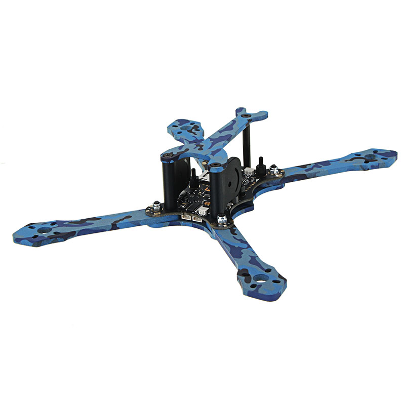 Eachine Wizard TS215 215mm FPV Racing Frame 4mm Frame Arms Carbon Fiber - Photo: 2