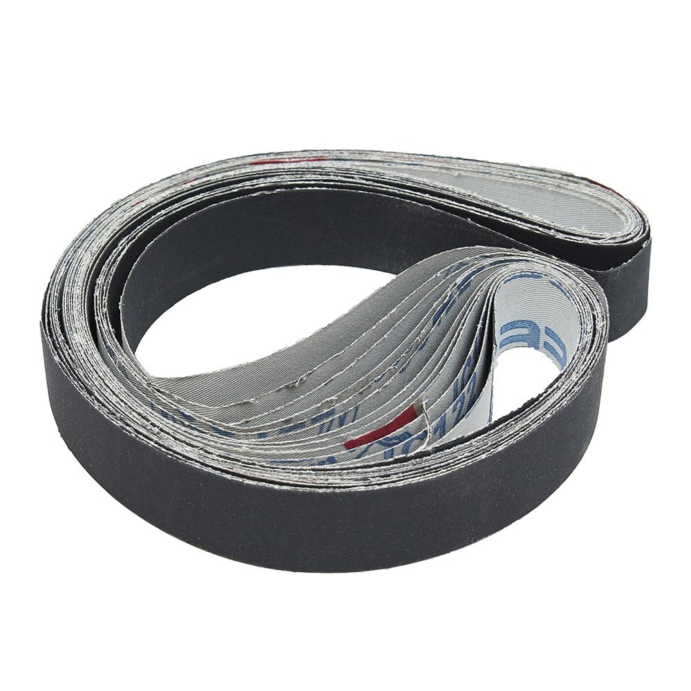 12Pcs 1x30 Inch Sanding Belts Silicon Carbide 400/600/800/1000 Grits Abrasive Sanding Belts