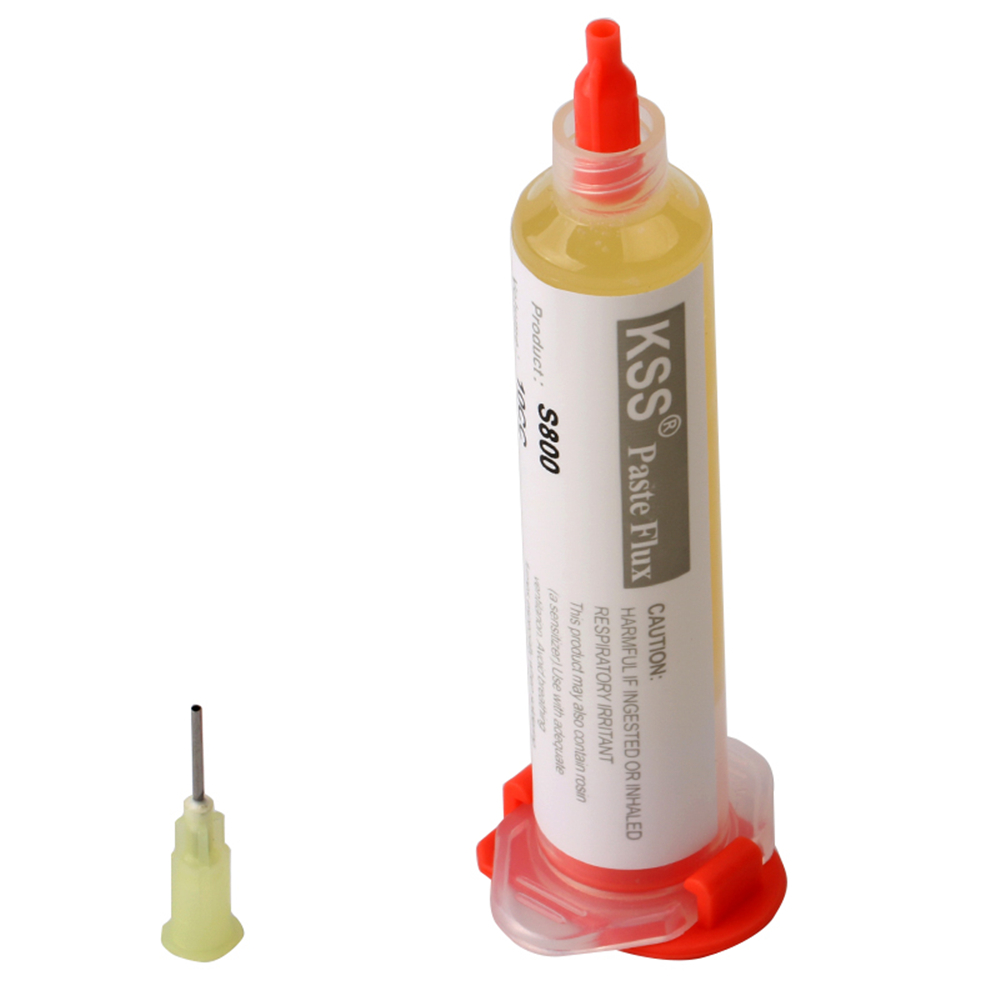 KSS S800 10CC Solder Paste Flux Soldering Paste with Needle for Soldering SMD BGA Dispensing Welding
