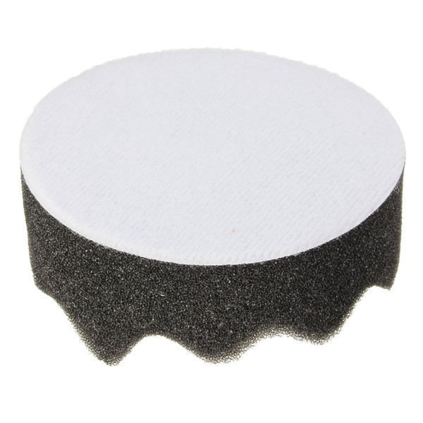 7pcs 3 Inch 80mm Polishing Buffing Pad Kit with Drill Adapter for Car Polisher