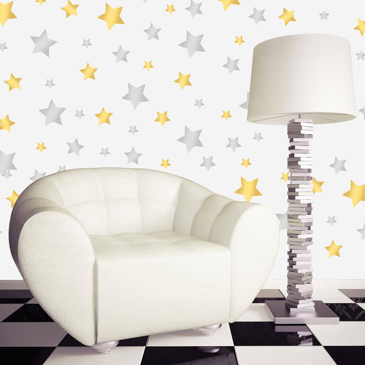 Removable Vinyl Stars Wall Sticker Window Sticker Home Nursery Room Kids Shop Art Decor