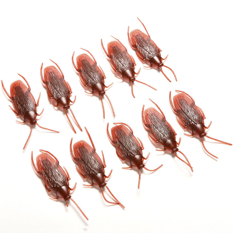 1pc Prank Funny Trick Joke Toys Lifelike Model Simulation Fake Cockroach Kids Children Magic Props