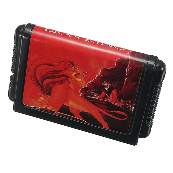 16bit Black Card The Lion King Game Cartridge for Sega Mega Drive Console