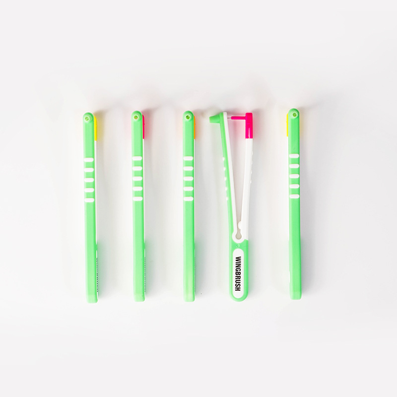 Wingbrush Revolution of Interdental Cleaning Brushes Starter Set Professional Dental Cleaning Tool