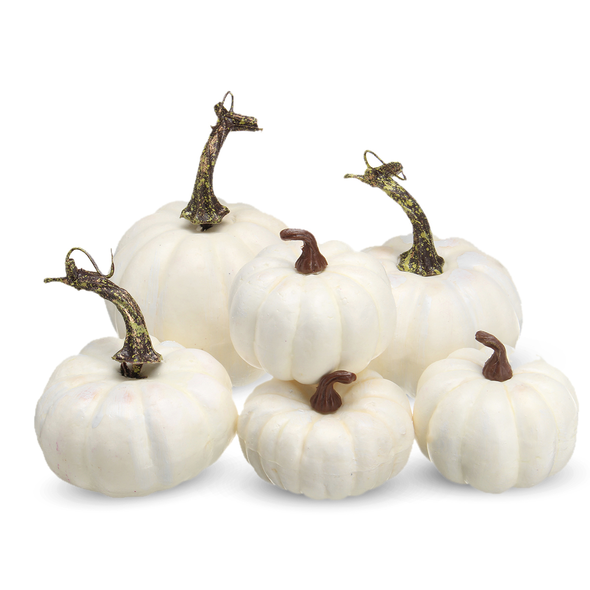 6PCS Halloween Mini Foam Pumpkin Simulation Props Party Decorations