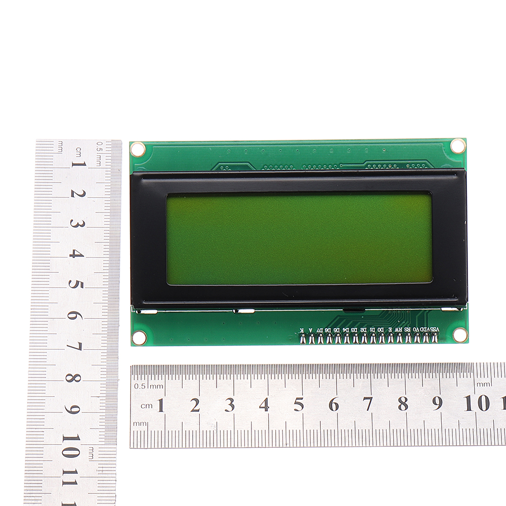 IIC / I2C 2004 204 20 x 4 Character LCD Display Module Yellow Green For Arduino