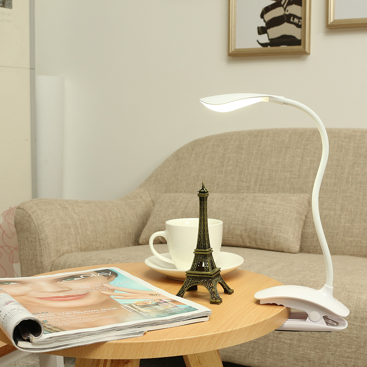 1W USB LED Desk Lamp Rechargeable Table Lamp Touch Sensor Dimmable Table Light For Children Study
