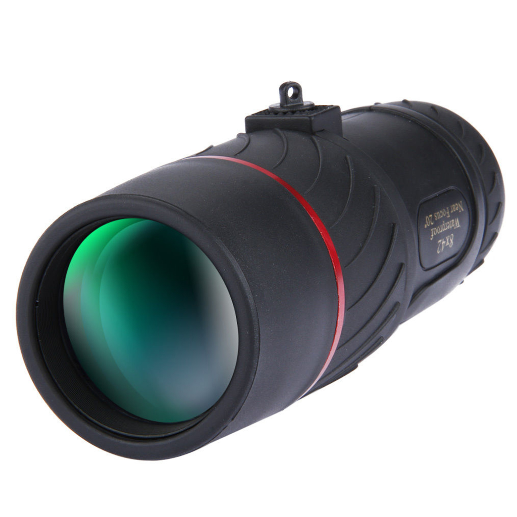 VISIONKING 8X42 Monocular Night Vision Not Infrared Tel