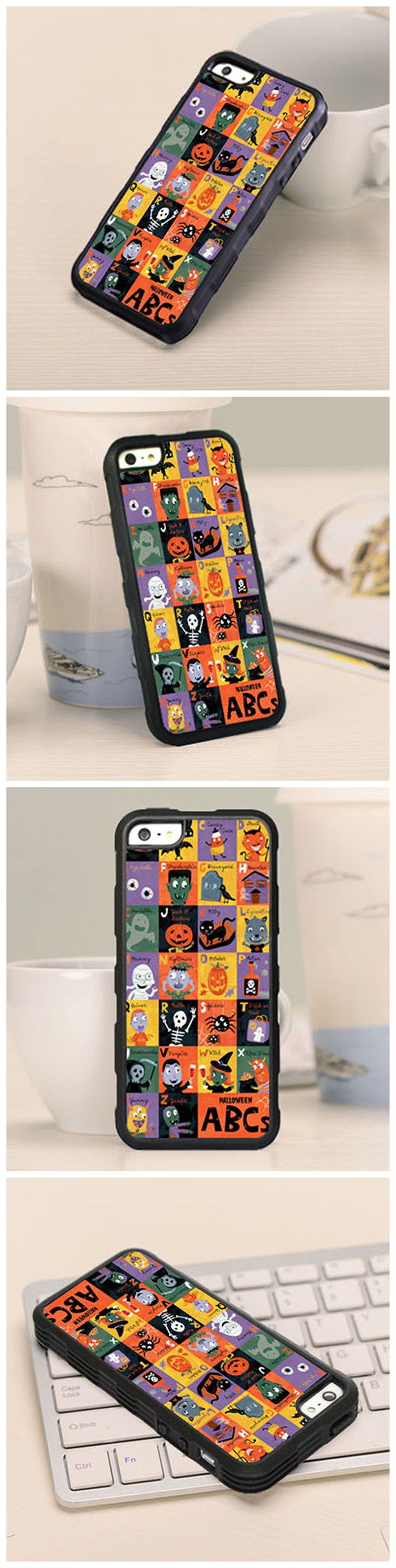 Fancy Halloween Soft TPU Case For iPhone 5 5S SE