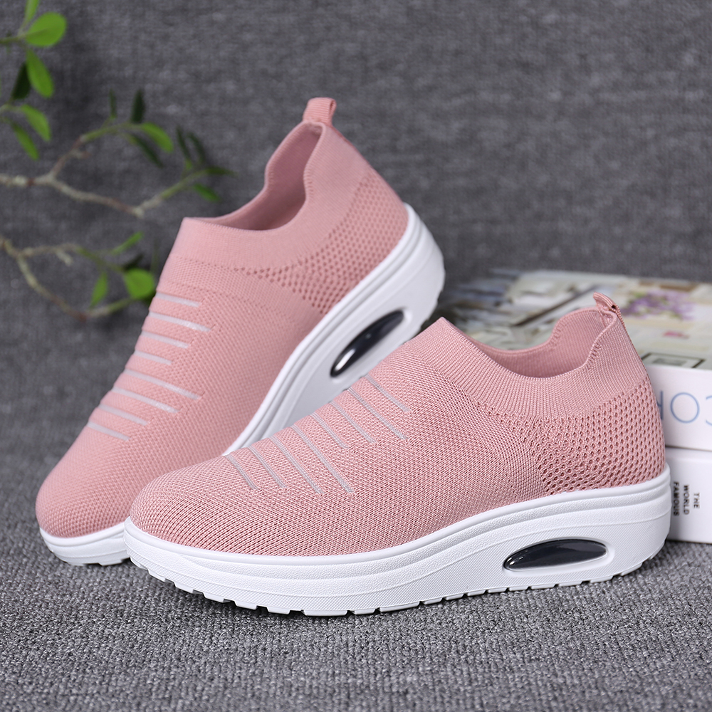 Women Casual Mesh Comfortable Breathable Sneakers