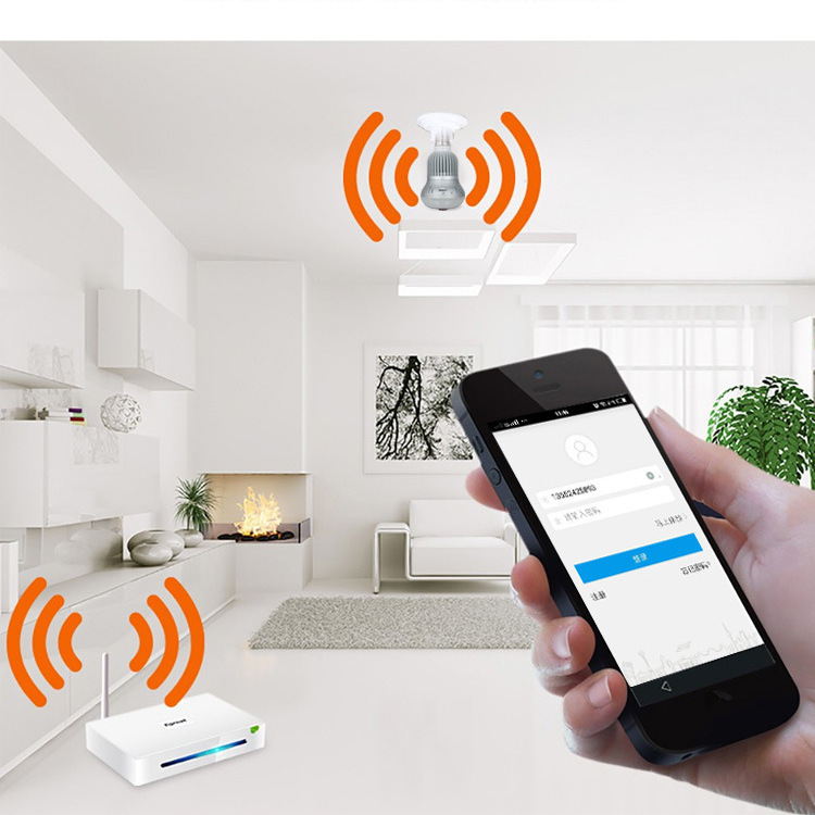 360° Wireless WiFi HD 1080P Light Bulb IP Security Camera Panoramic Motion Detect Two Way Audio 20